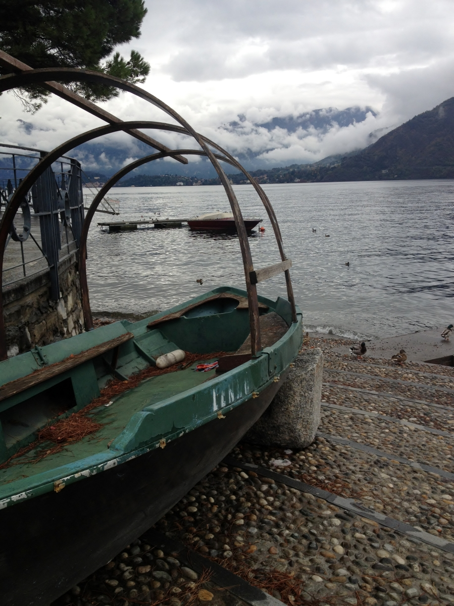 A Cloudy and Damp Lake Como, Italy Still Enchants